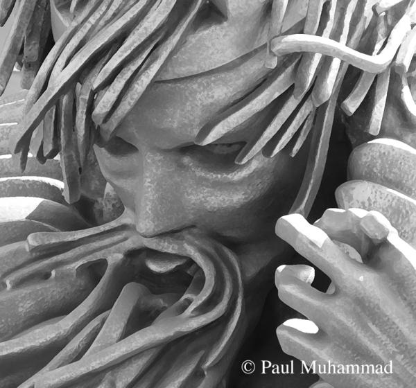 King Lear statue